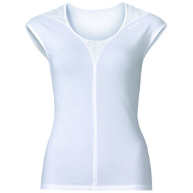 Odlo Revolution TS X-Light Intimo parte superiore Donna bianco